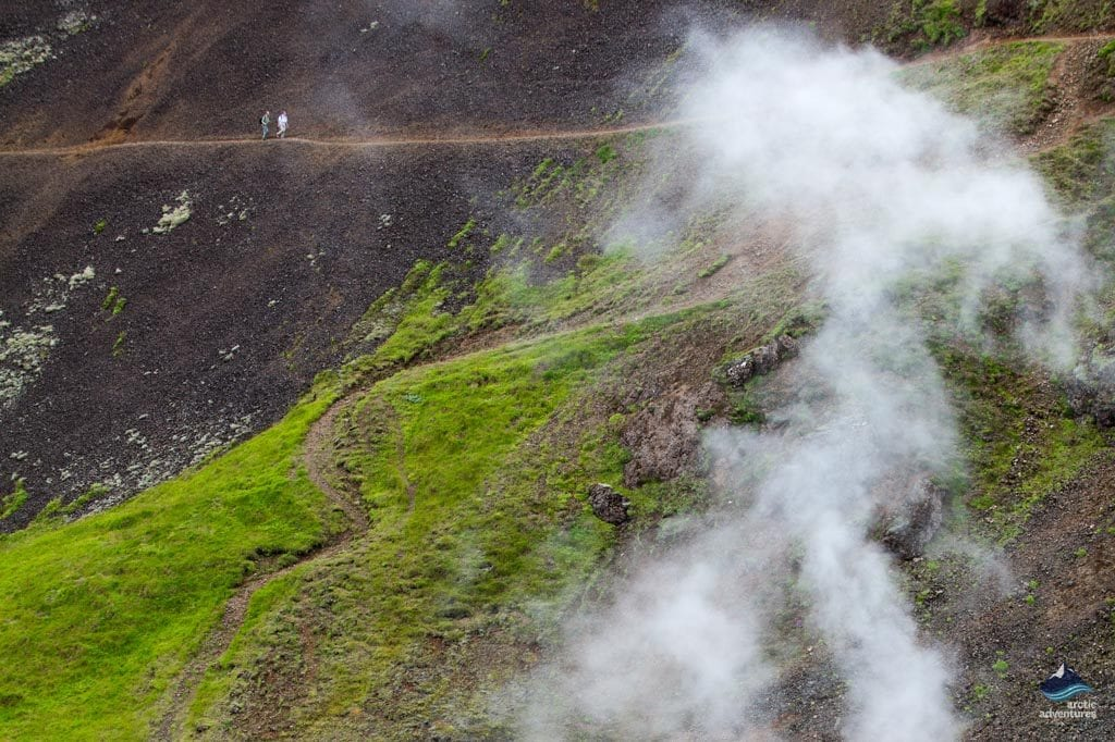 Horse Riding in Reykjadalur