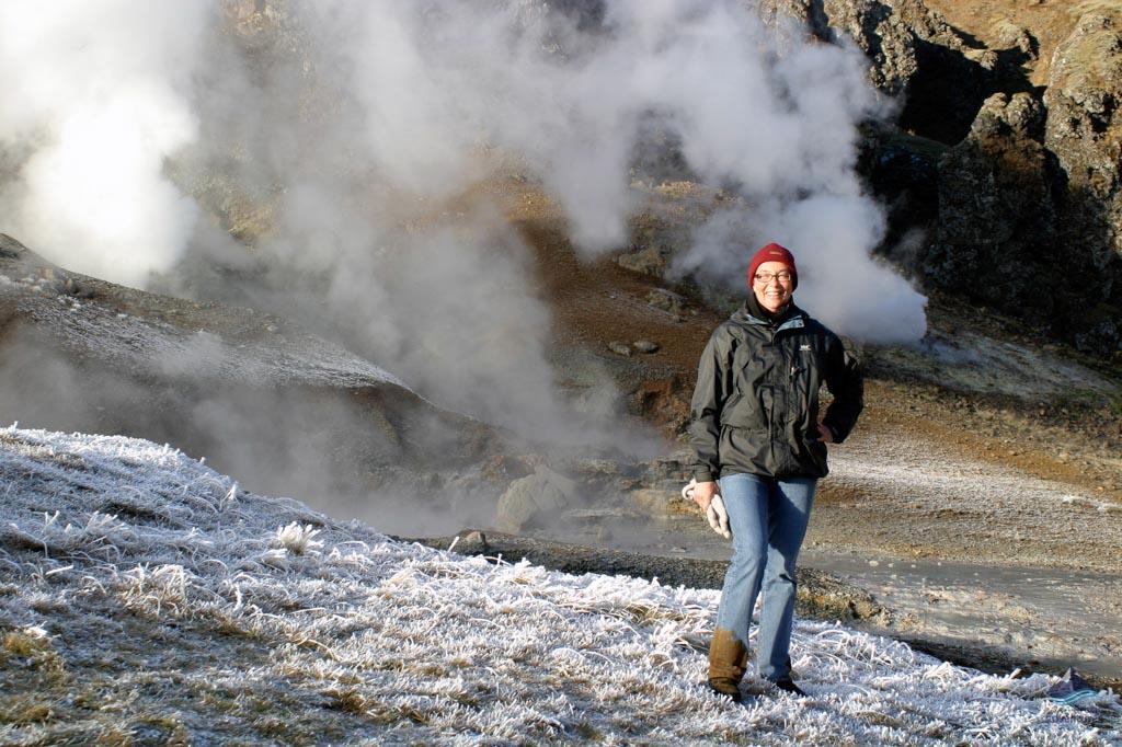 Winter at Reykjadalur