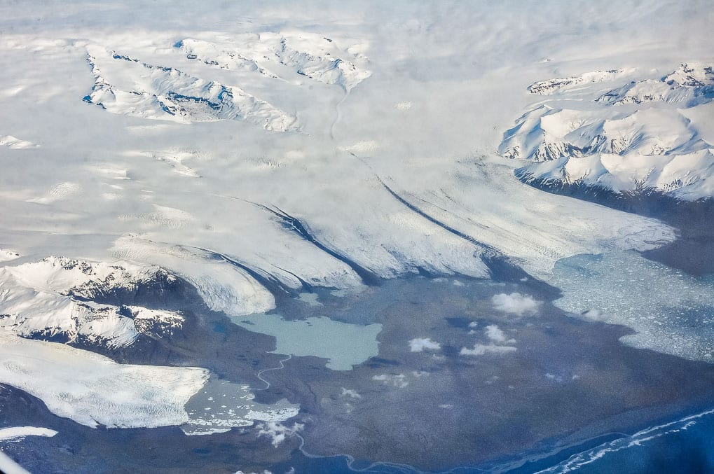 Fjallsarlon, Breidarlon and Jokulsarlon. Photo: Hansueli Krapf, Wikimedia