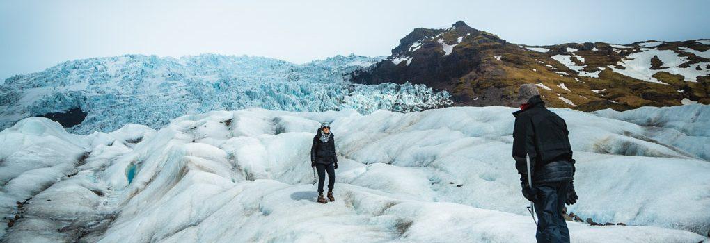 冰岛瓦特纳冰川深度冰川徒步体验