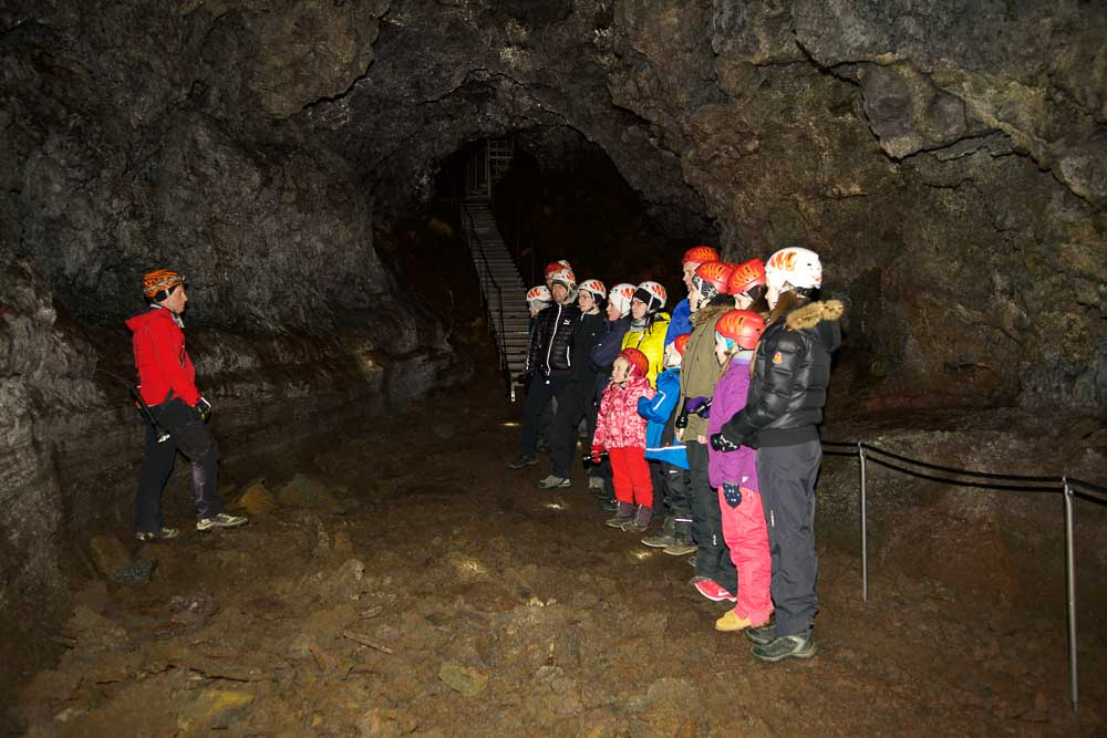 Vatnshellir lava cave, Iceland