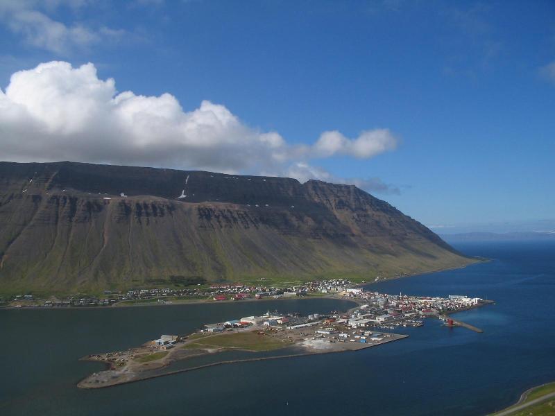 Isafjordur Westfjords Iceland