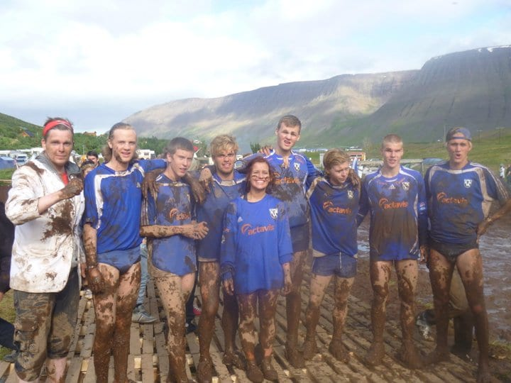 Swamp Soccer at Isafjordur