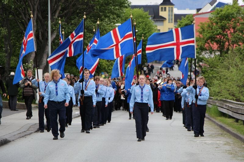 17th of June National Day Iceland