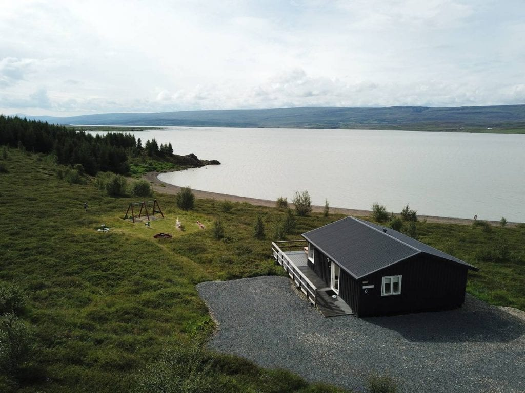 A lovely cabin near the Lake Lagarfljot near Egilsstadir East Iceland
