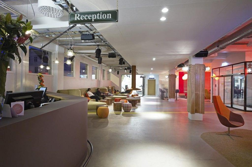 Hotel Lobby at Marina Hotel