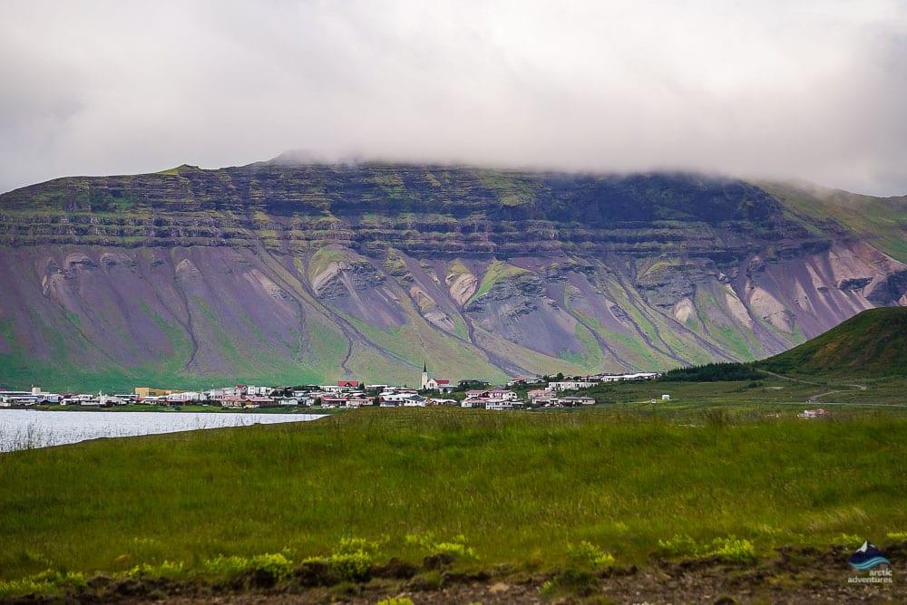 Grundarfjordur on Snaefellsnes Peninsula