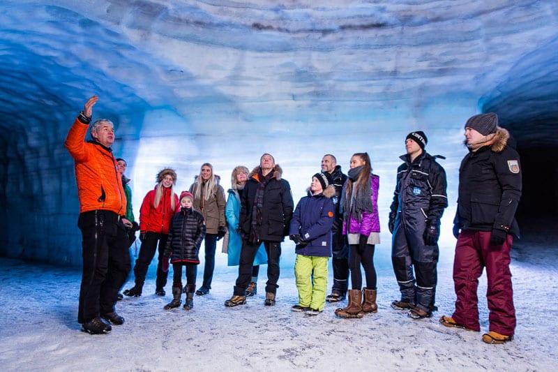 Langjokull Glacier Ice Cave
