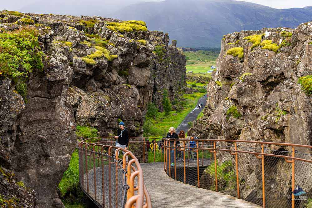 Path at Thingvellir National Park