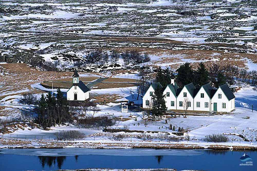 Houses at Thingvellir