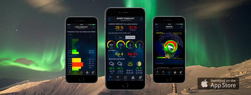 northern lights mobile application