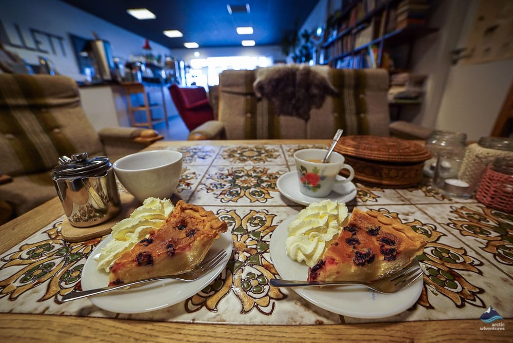 café in the capital area Reykjavík