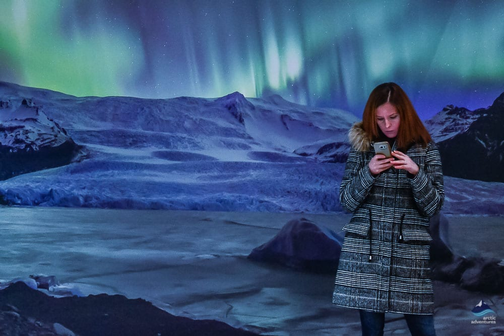 Northern Lights Exhibition at Perlan