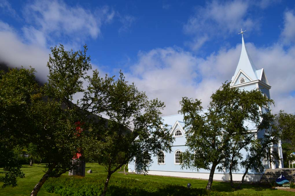 Church from Seydisfjordur
