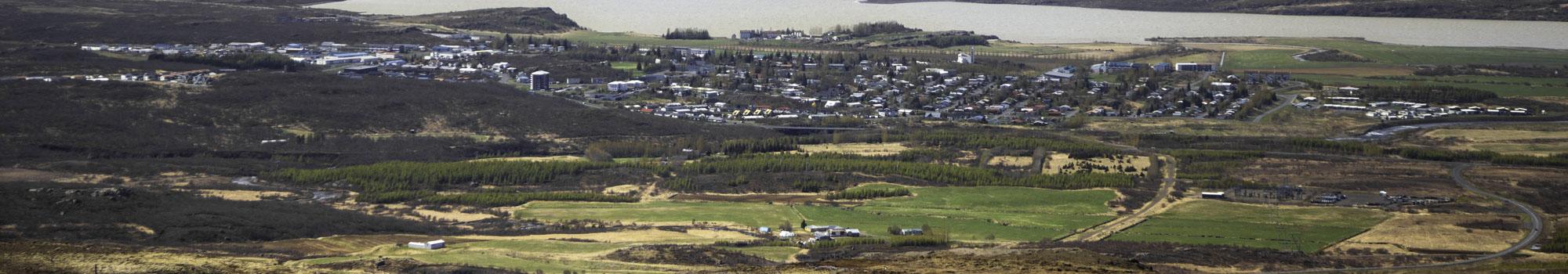 Egilsstaðir overview