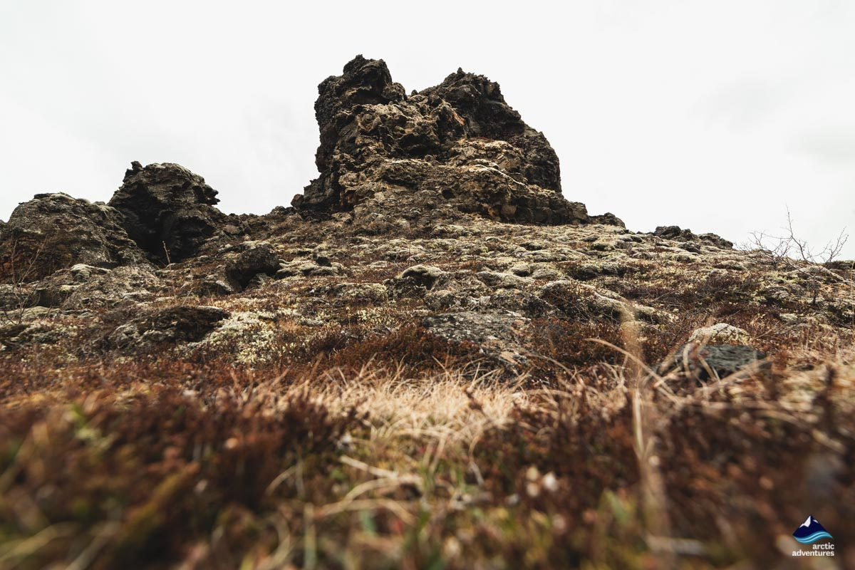 Dimmuborgir in North Iceland