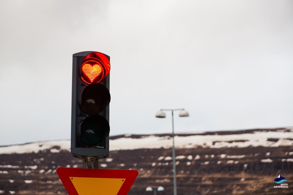心形红绿灯