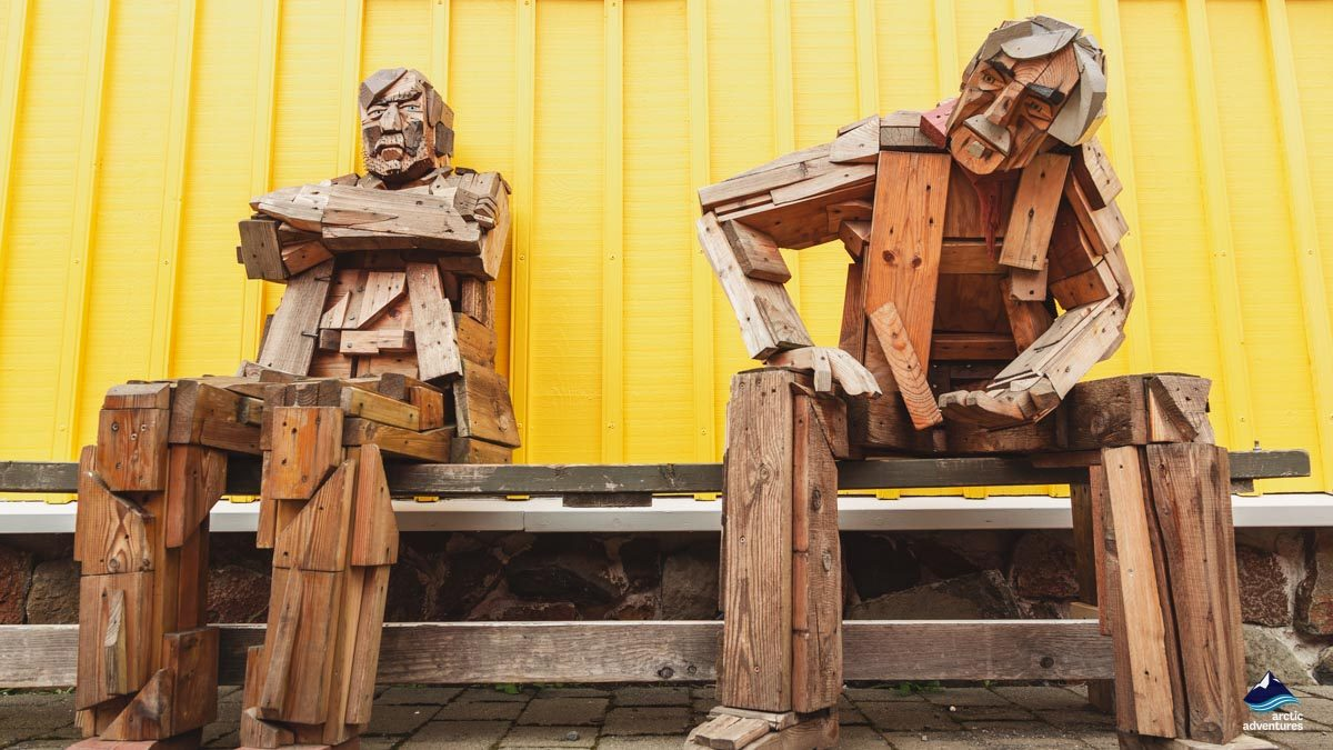 冰岛特色木雕