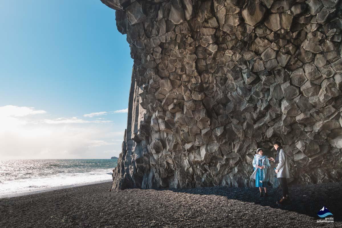 黑沙滩玄武岩柱