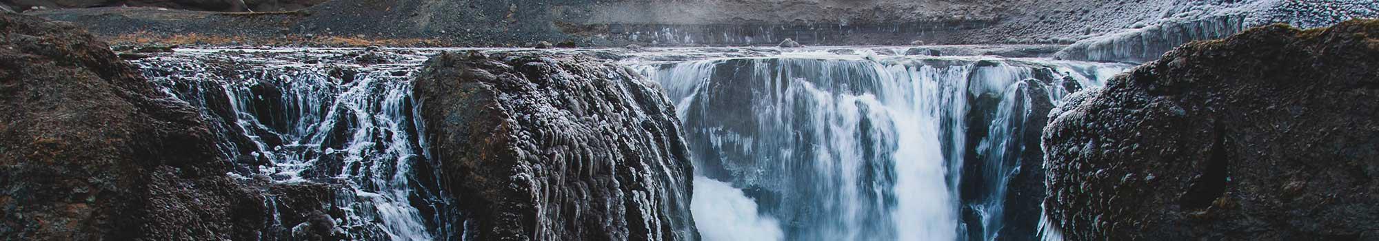 兰德曼劳卡高地瀑布水雾