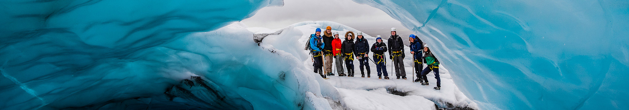 glacier hiking iceland