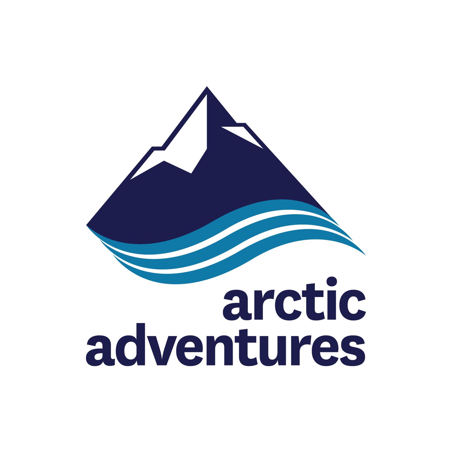Arctic Adventures logo white