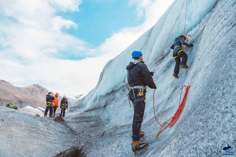 Ice Climbing Svinafellsjokull