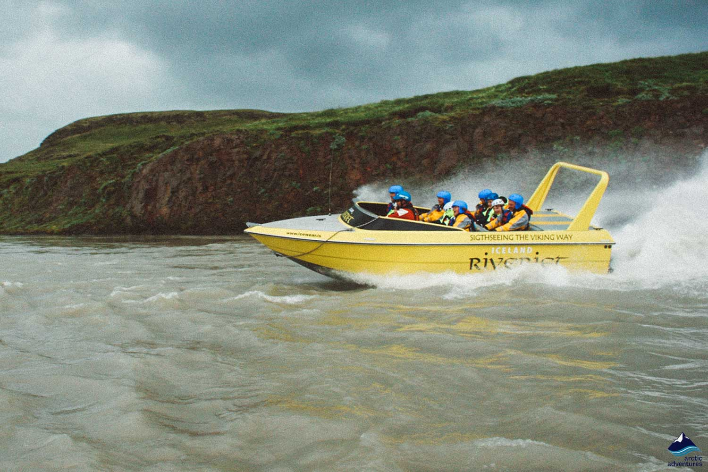 River Jet in Iceland
