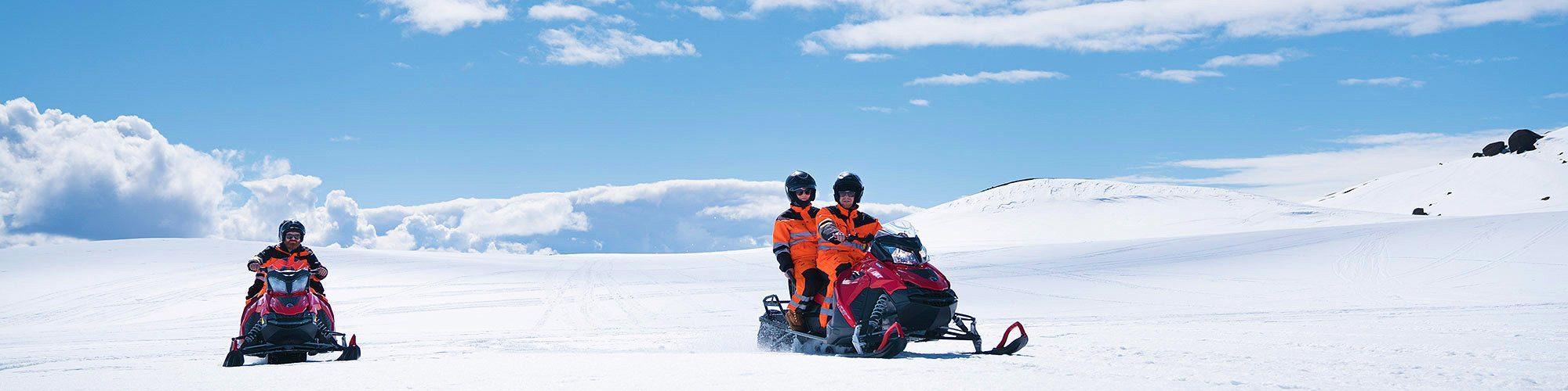 glacier-snowmobiling