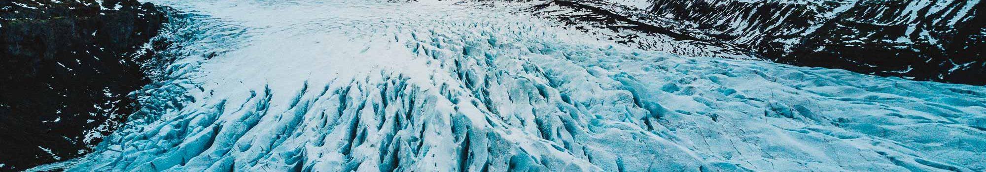 Vatnajokull National Park glacier