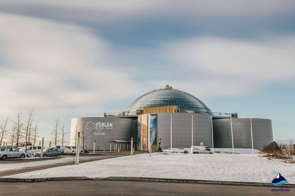 Perlan museum in Reykjavik