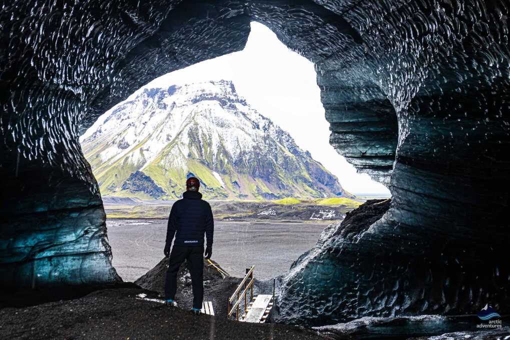 The Ice Cave Under the Volcano