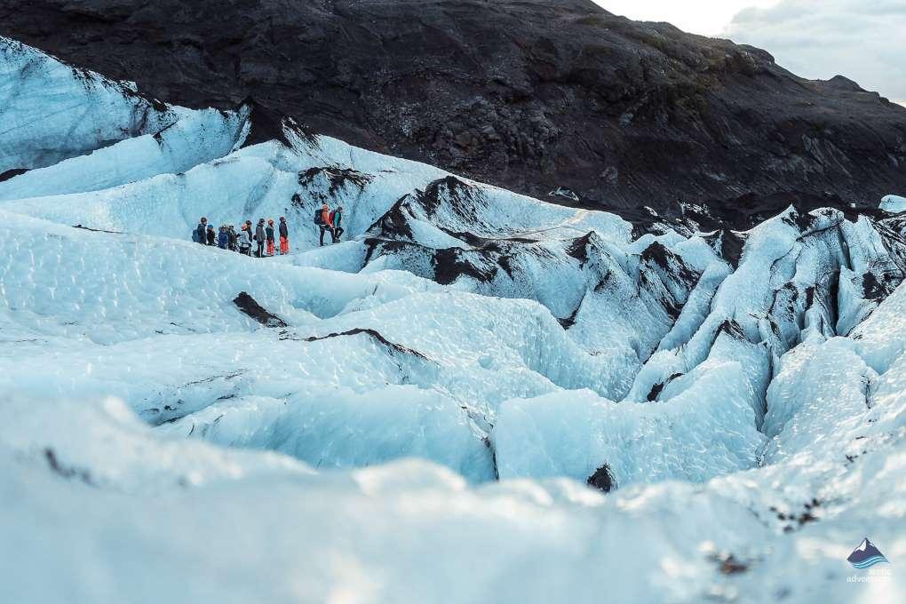 Bilbos Blue Ice Cave Iceland
