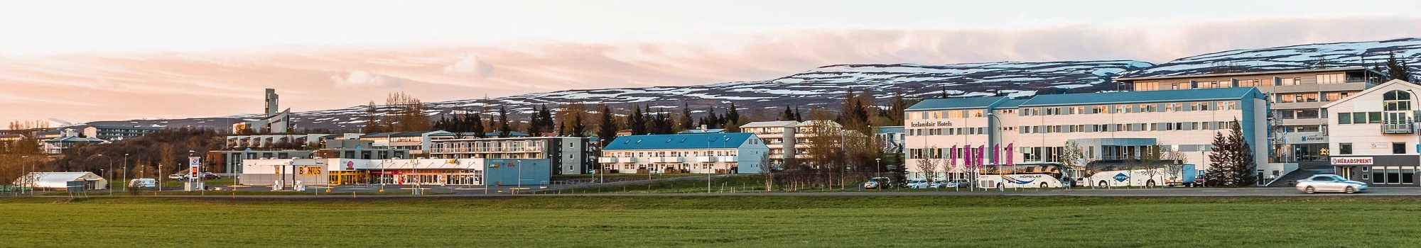 Egilsstadir city in Iceland