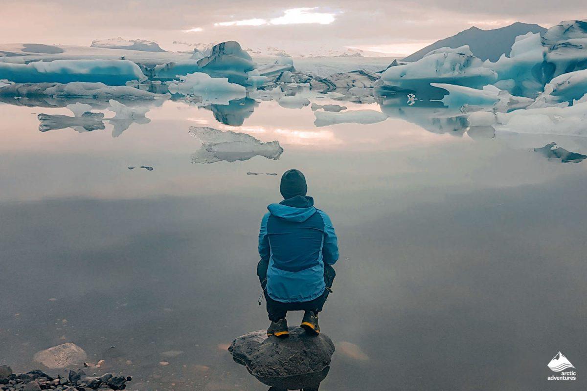 south coast iceland jokulsarlon glacier lagoon