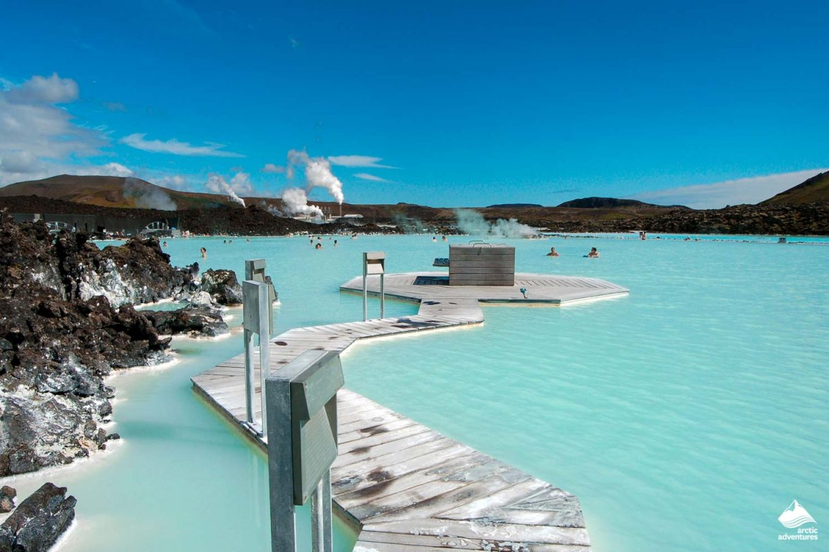 The Blue Lagoon geothermal bath