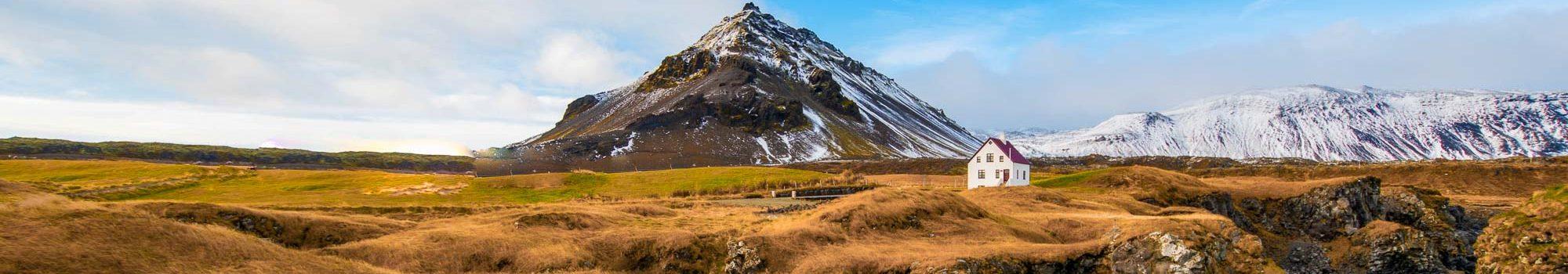 Arnarstapi mountain in Peninsula