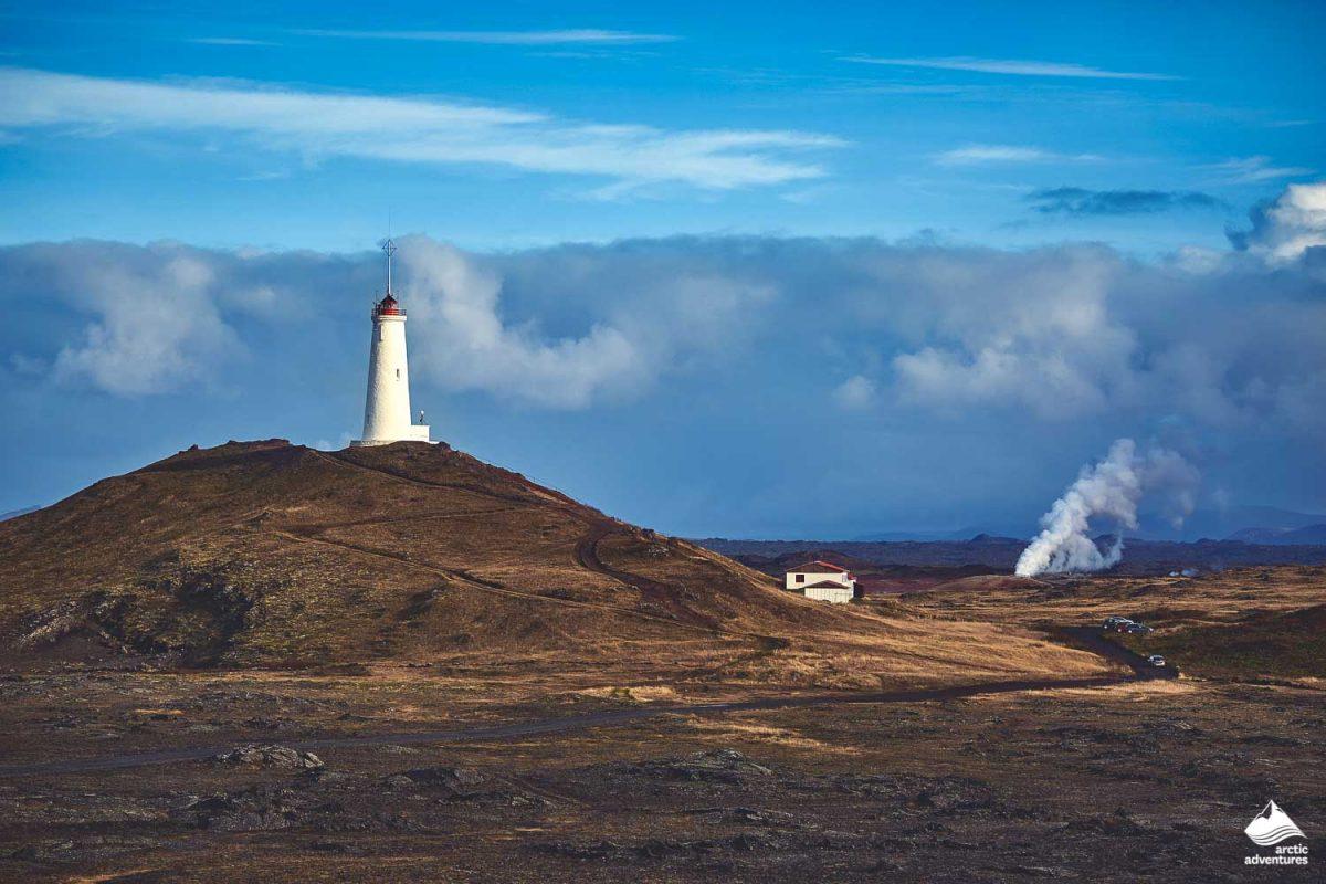 Reykjanesviti, Iceland's oldest lighthouse on the Reykjanes Peninsula