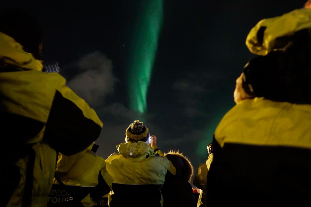 Northern lights boat tour Reykjavik