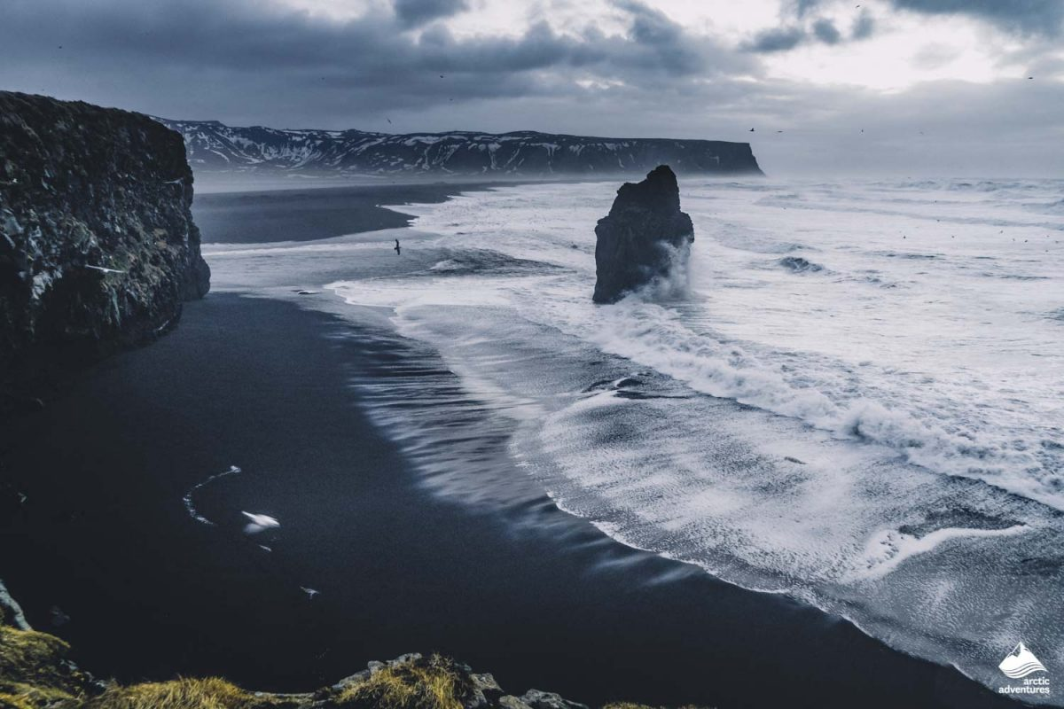 Black Sand Beach in Reynisfjara