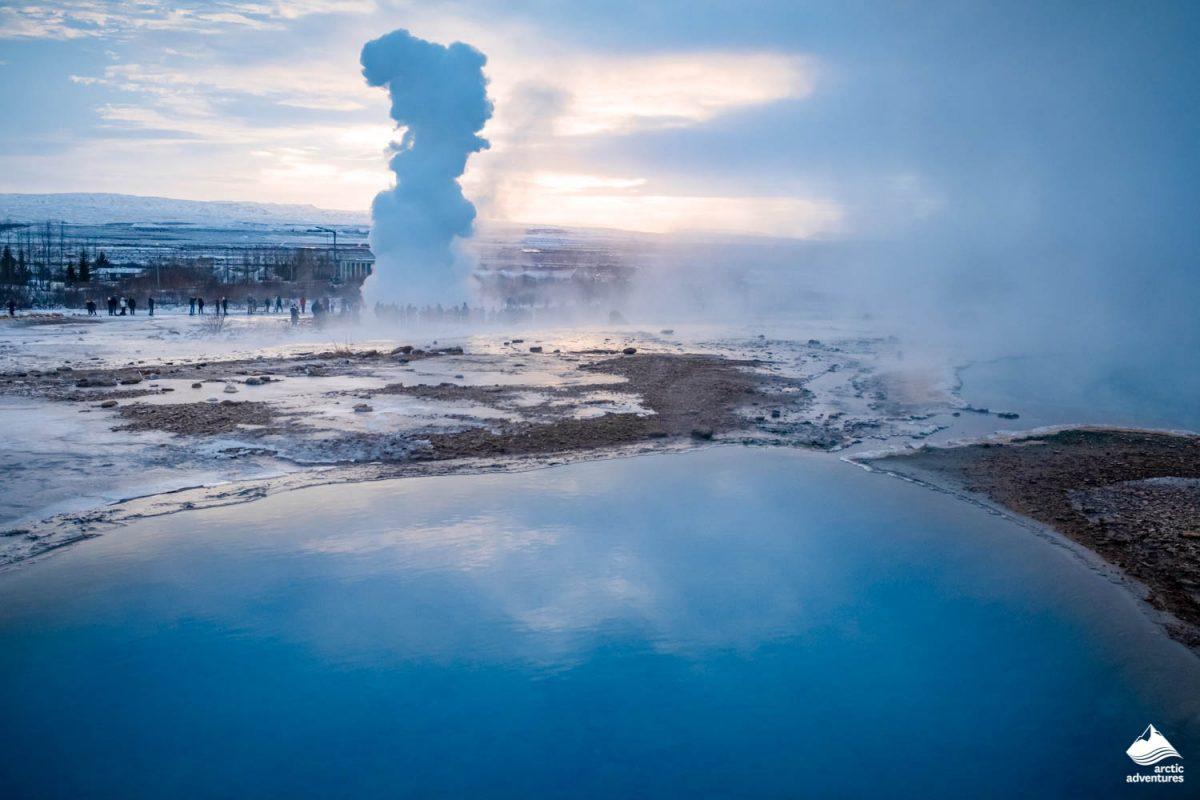Strokkur Geysir eruption