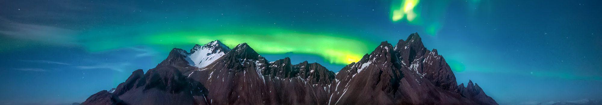 Northern Lights Green Reflection