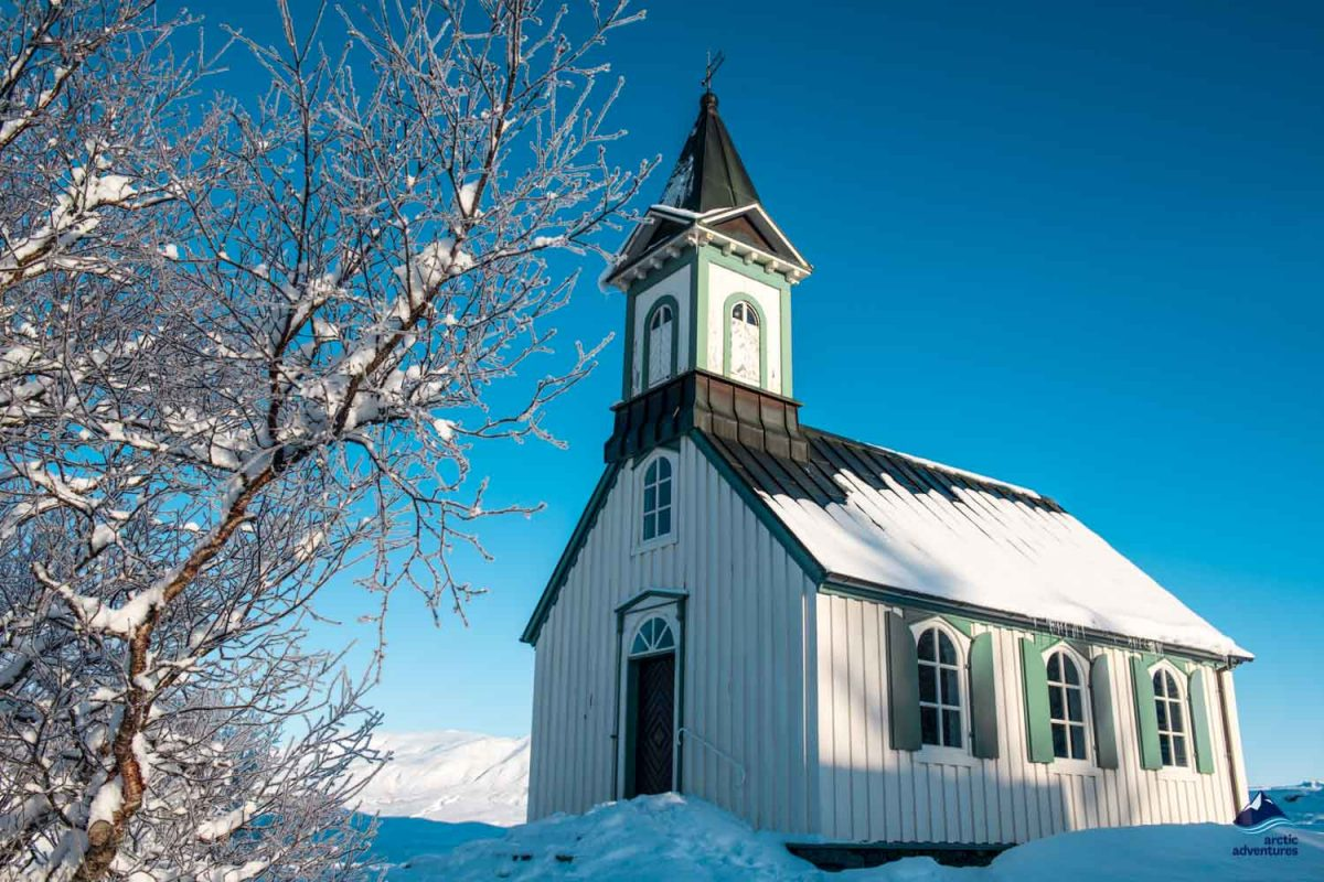 Small Church in Thingvellir national park
