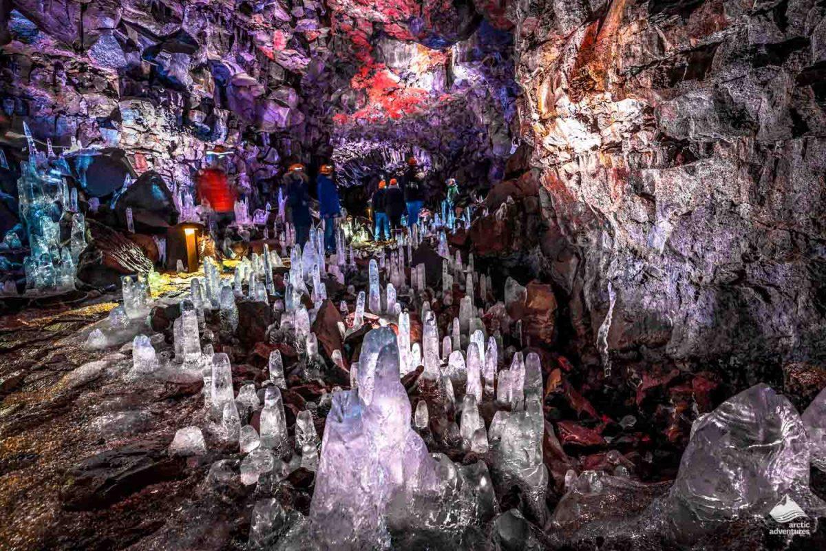 Raufarholshellir lava cave