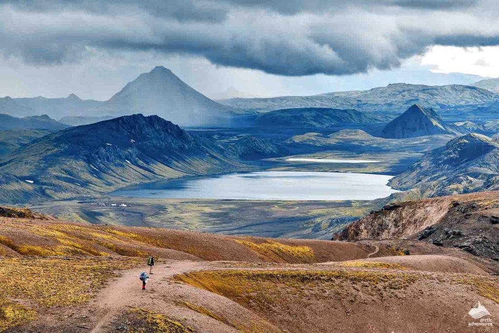 Landmannalaugar hiking in Iceland