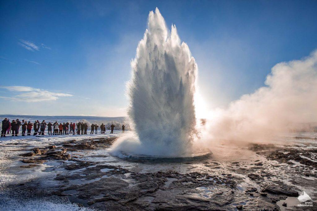Geysir Geothermal Area in Iceland