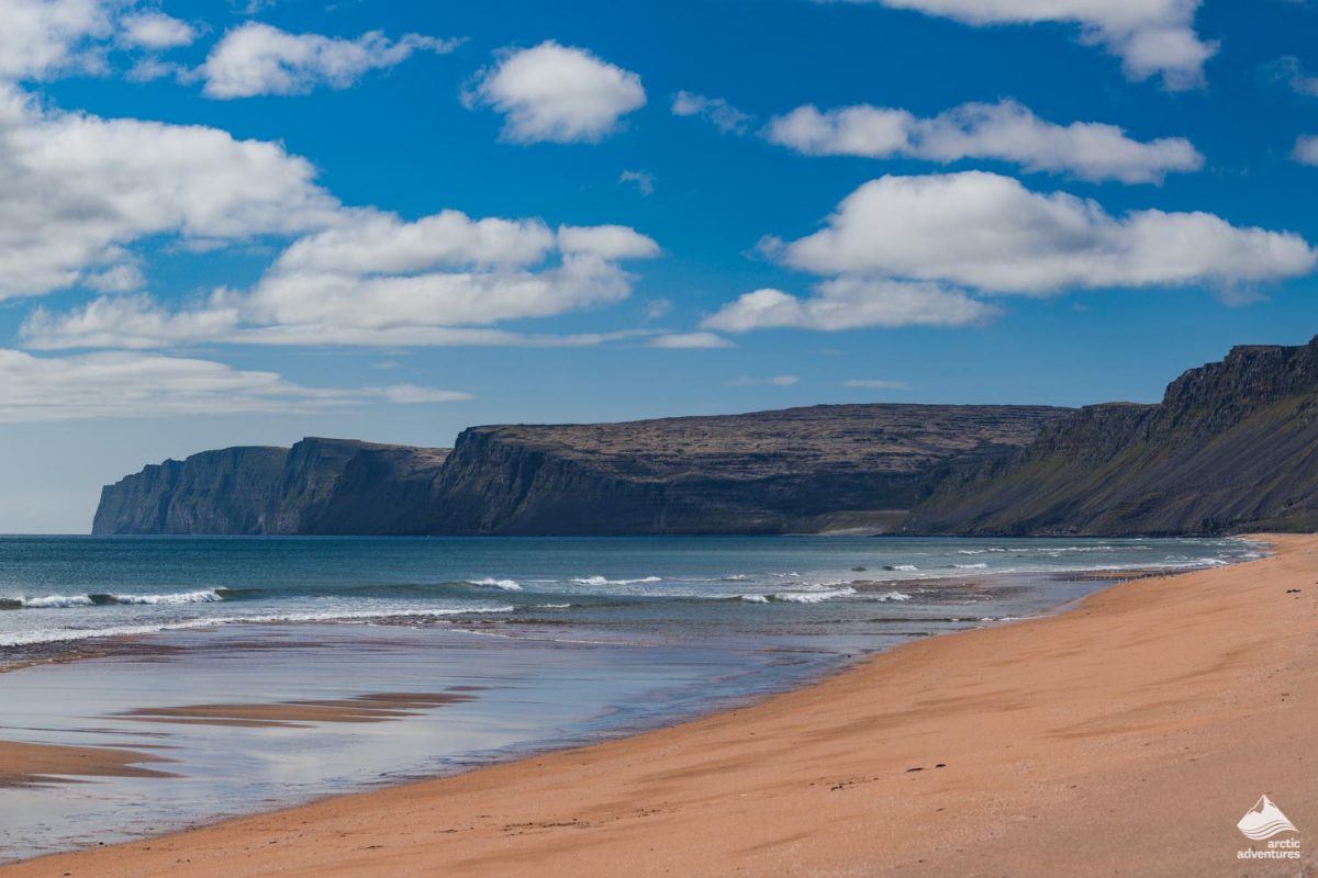 Raudasandur Beach in the Westfjords