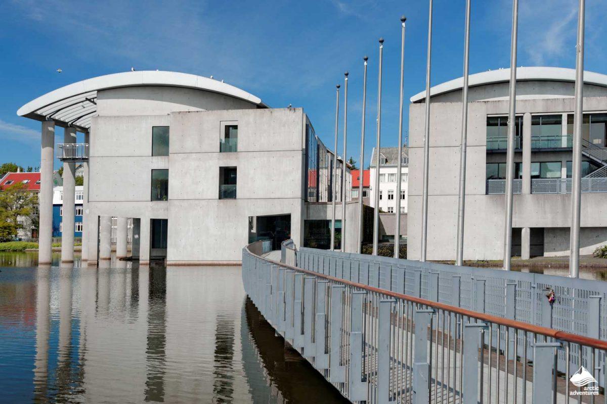 Reykjavik city Hall in Tjornin