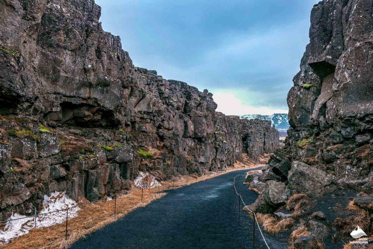 Tectonic Plates in Thingvellir National Park