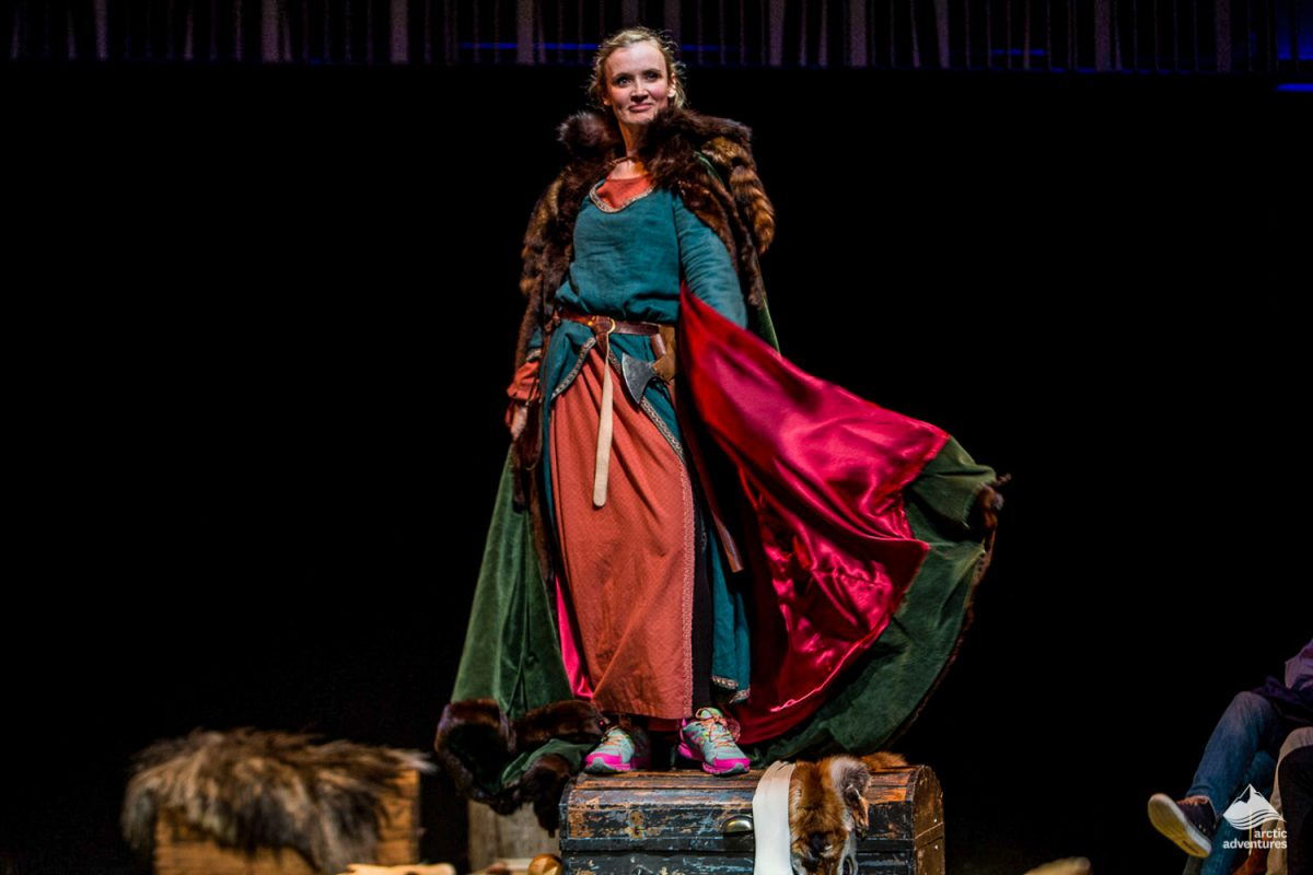 Comedy show on the Icelandic Sagas